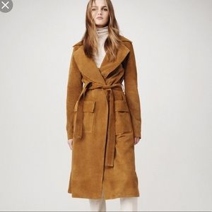Frame Suede Duster
